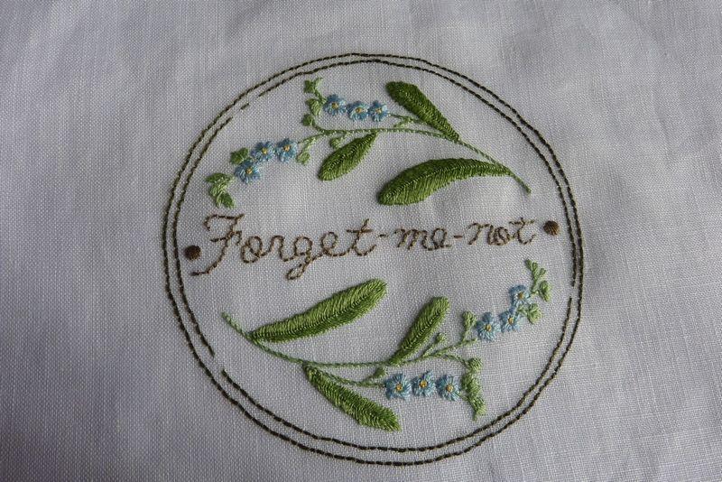 Les Myosotis ''Forget me not''