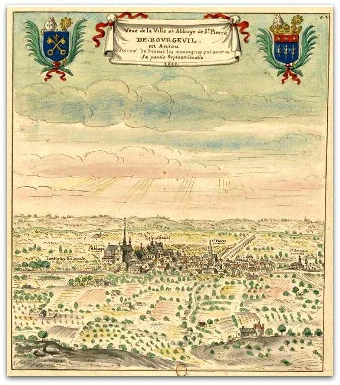 Bourgueil abbaye z