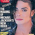 The making of michael jackson's new video - tv guide, du 02 au 08 novembre 1991
