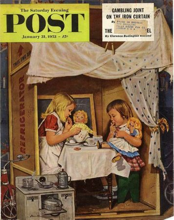 1953-01-31LG Playing House - Stevan Dohanos