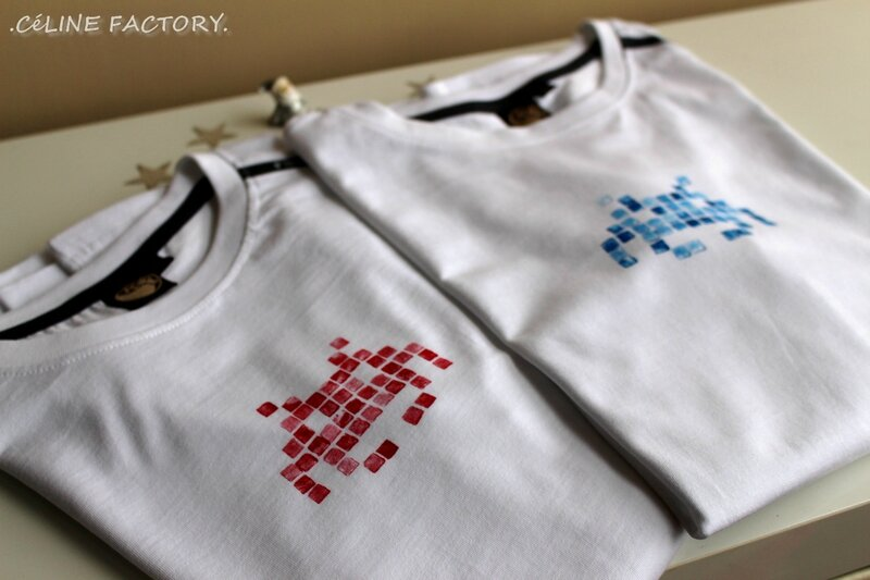 T-shirt Space Invaders 1