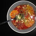 Salade d'oranges sanguines à la marocaine