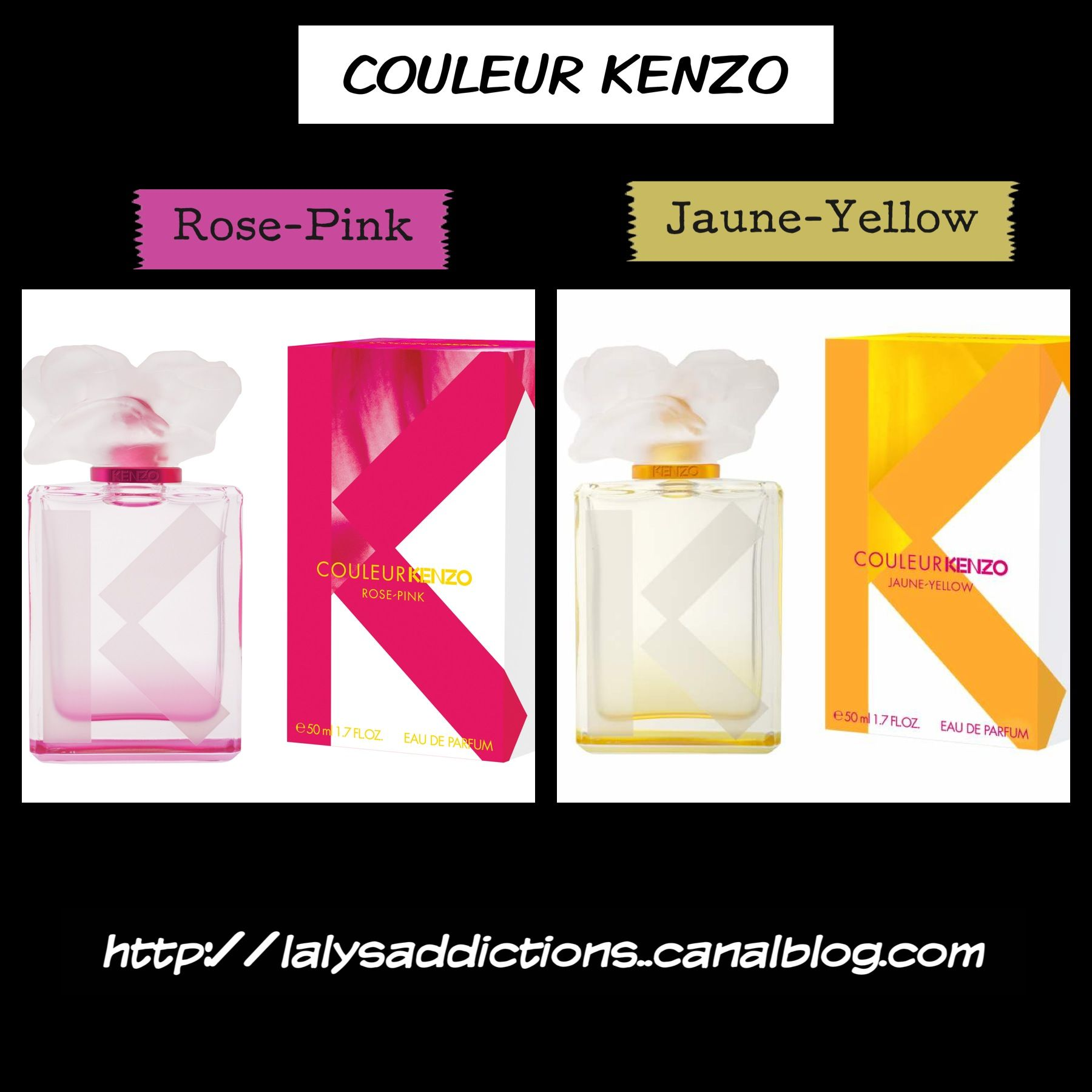 02f2c746 Couleur Kenzo Rose/Pink – Prix : 59€ – Contenance : 50 ml