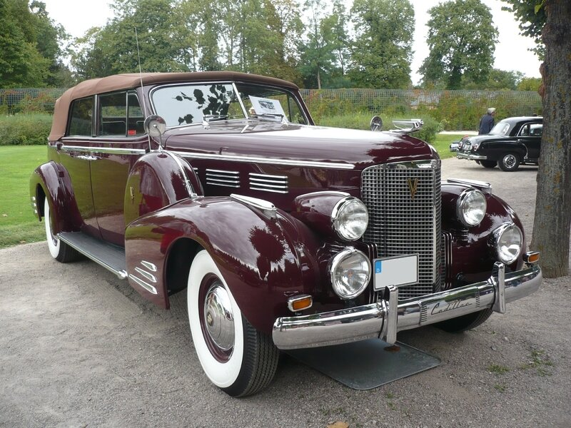 CADILLAC Series 75 Convertible Sedan 1938 Schwetzingen (1)