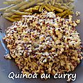 Quinoa au curry