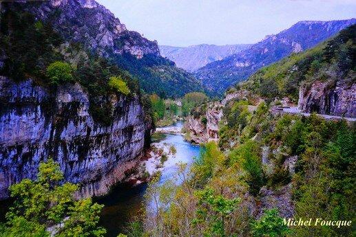 879) Traversée à vélo des Gorges du Tarn
