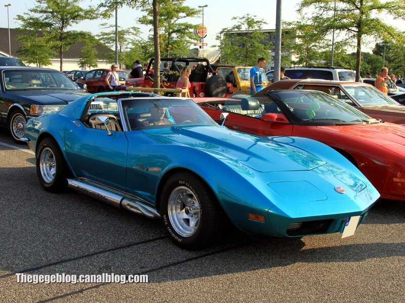 Chevrolet corvette stingray (Rencard Burger King juillet 2013) 01