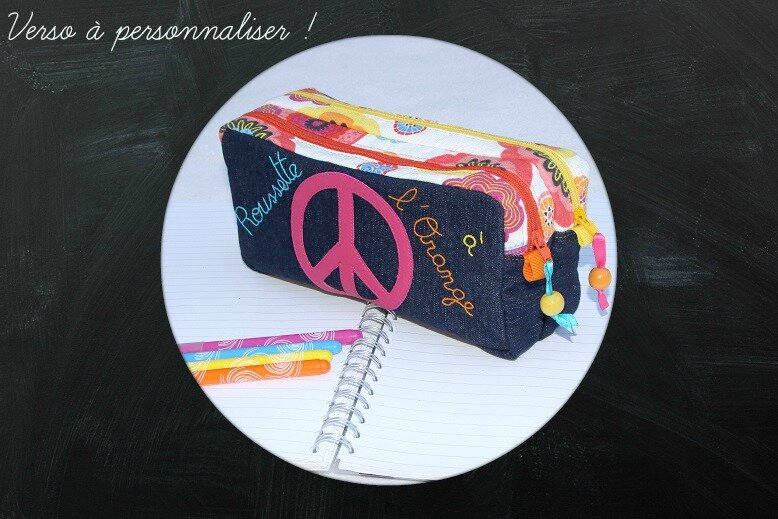 A gagner trousse fille verso