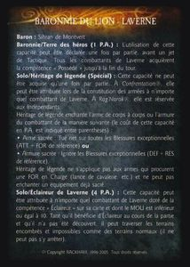 Pack de cartes - Les Baronnies du Lion - baronnie_du_lion-laverne