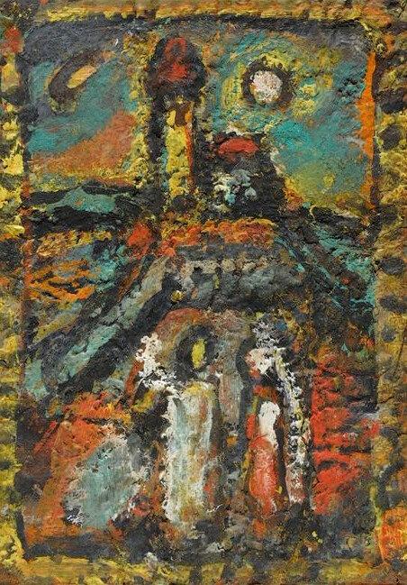 1945 - Christ à la tour