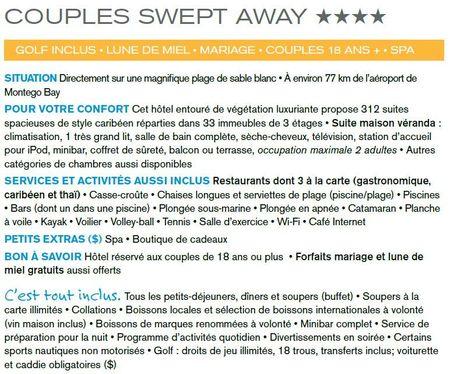 Couple Swept away