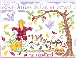 Visuel Oiseaux du Ciel Automne