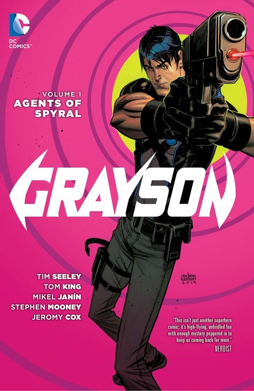 new 52 grayson vol 1 agent of spyral TP