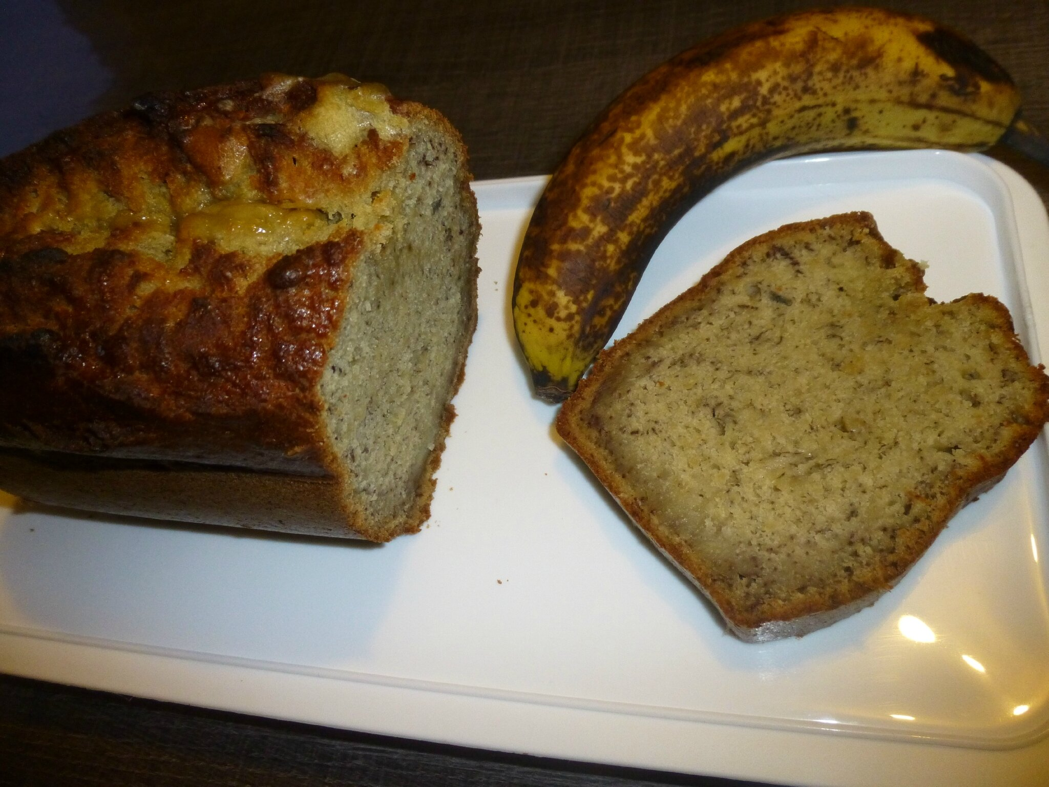 Banana bread de Rose Bakery