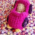 Vroum ! Une voiture pour les serial crocheteuses.