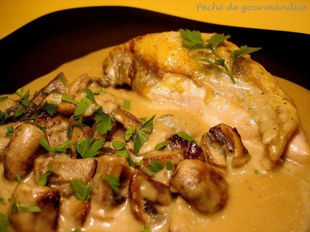 Pintade vall e d 39 auge p ch de gourmandise - Comment cuisiner des cuisses de pintade ...