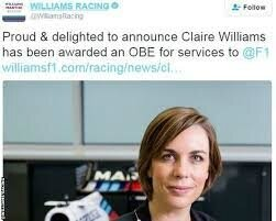 claire williams obe po