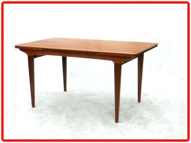 table en teck vintage scandinave années 1960 (13)