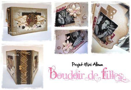 Visuel Mini album Boudoir de Filles