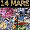 mois de MARS 14