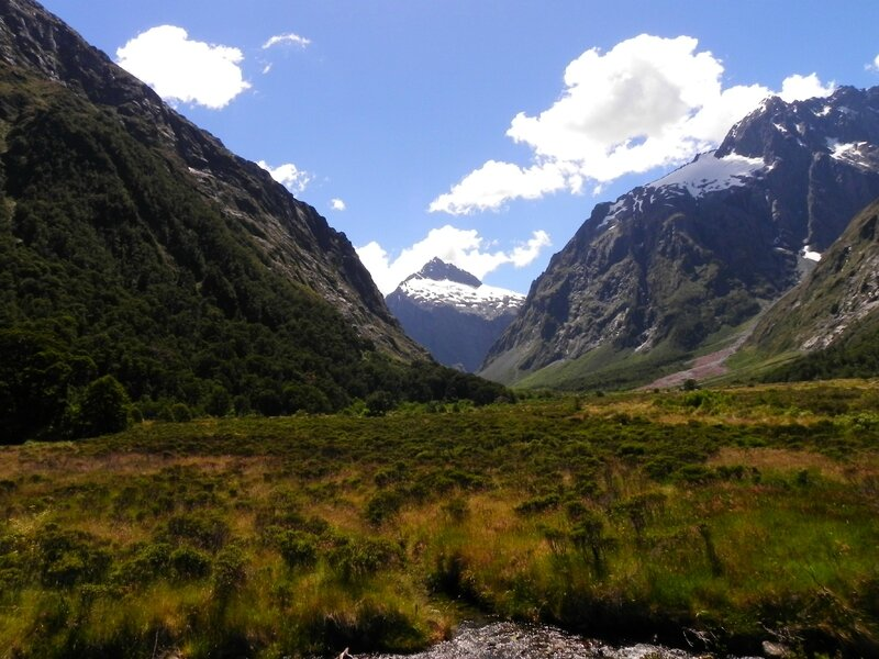 Route Milford Sound