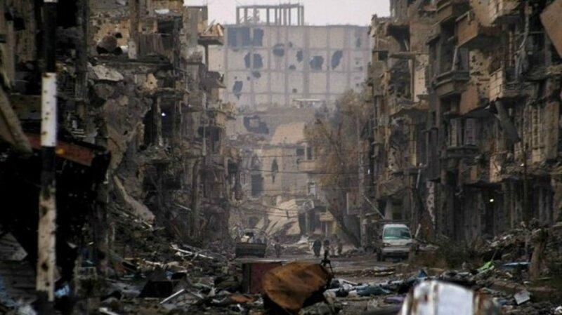 Une-rue-en-Syrie-ravagée-par-la-guerre-civile-Crédit-AFP1