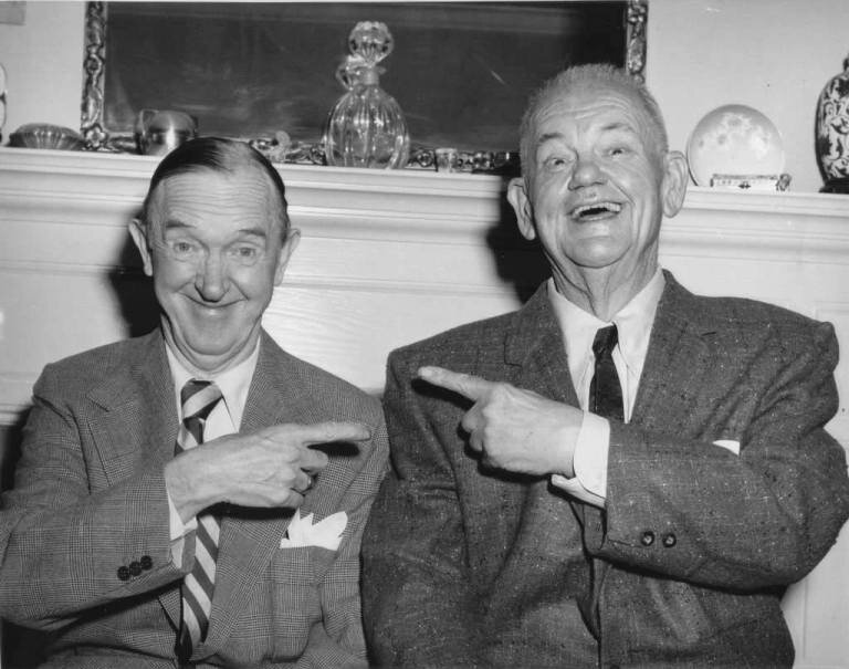 Laurel and Hardy Old
