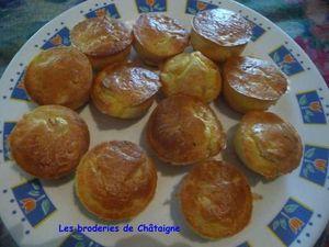Muffins au poulet