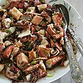 Salade de poulpe au pimento