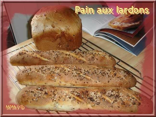 Pain aux lardons