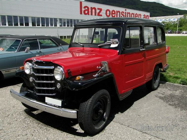 willys overland wagon 1952 a