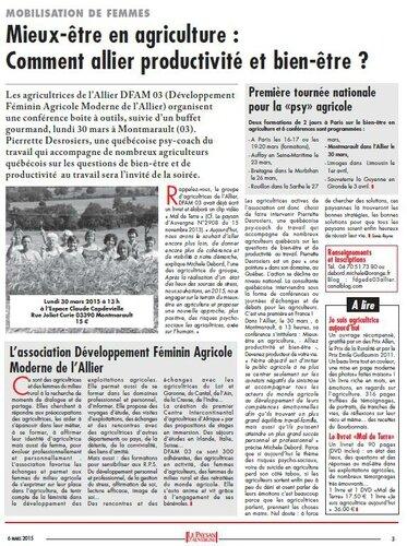 Le Paysan d'Auvergne Sonia Reyne DFAM 03