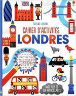 Cahier d'activités Londres couv