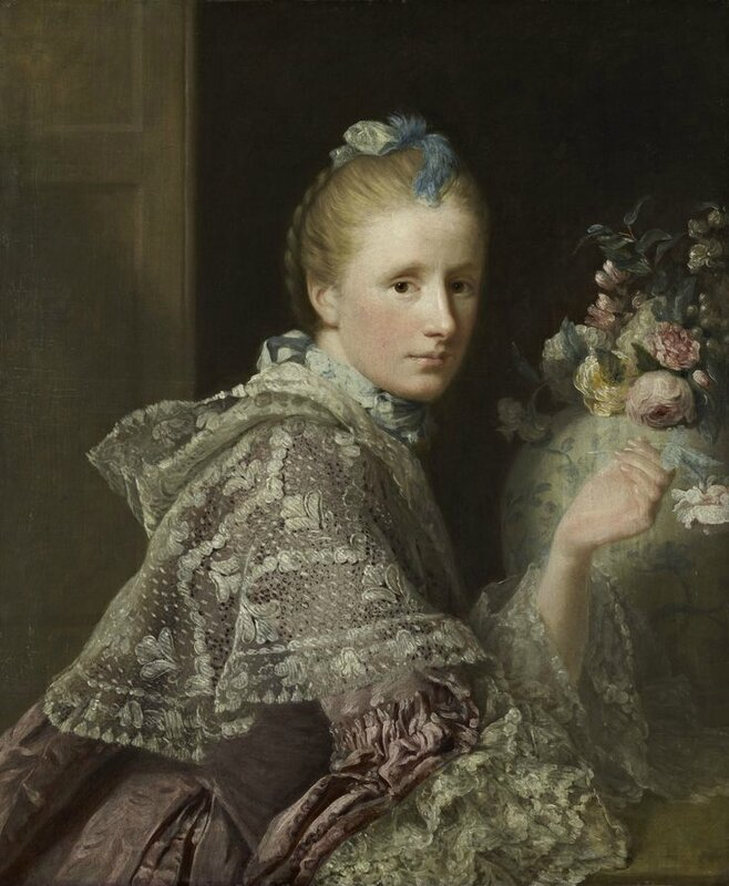 Allan Ramsay, The Artist's Wife Margaret Lindsay of Evelick, 1758 - 1760