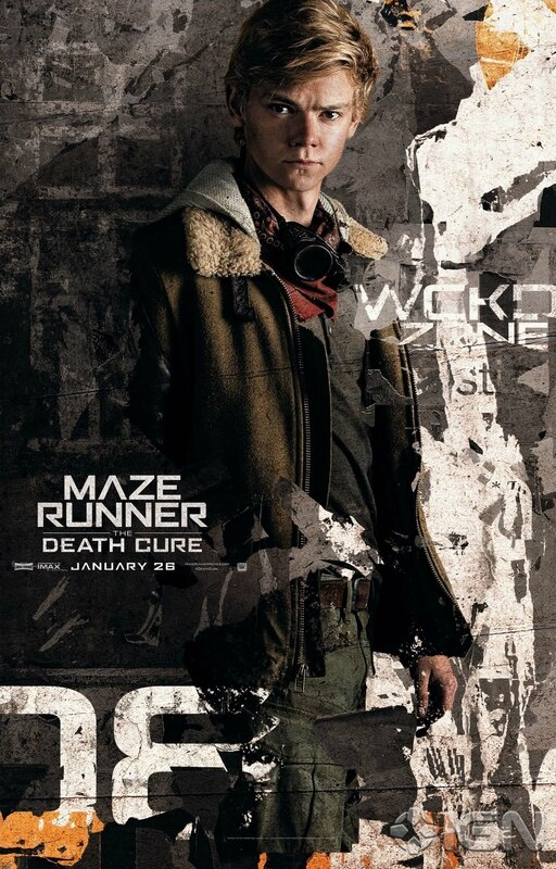 Death Cure_Thomas Brodie Sangster as Newt