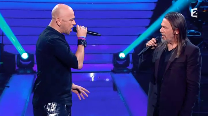 "Florent Pagny invite @ObispoPascal dans ""Le Grand Show"" (Replay et photos)"