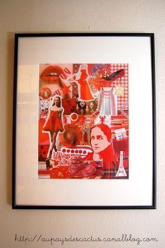 Collage Fil rouge Au pays des Cactus