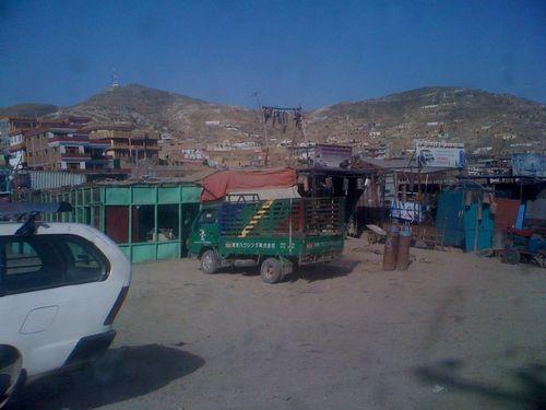 Un des marchés de Kaboul