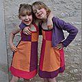 Petites robes pour mes filles …