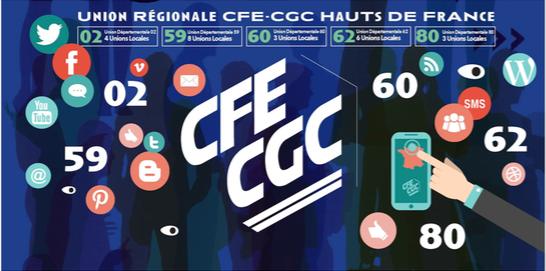 Véritable succès du Stand de l' UNION REGIONALE CFE-CGC HAUTS DE FRANCE au Salon des CE de Lille !