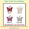Carte pcc276 paper craft crew challenges