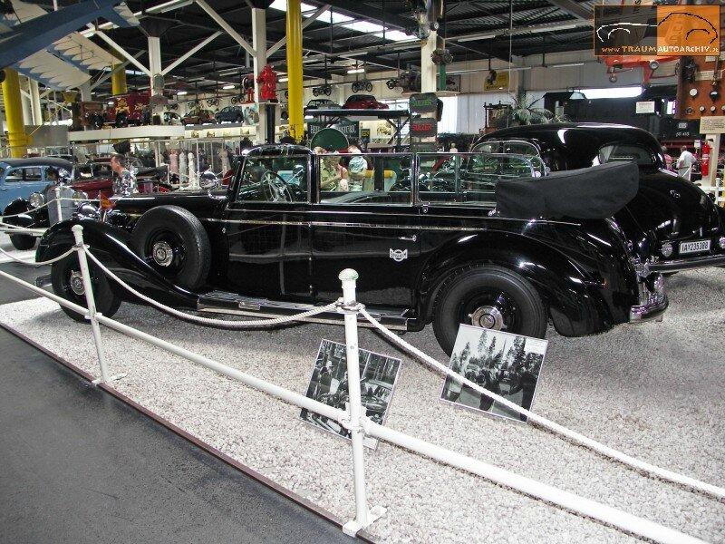 770 Grosser Cabrio F Gepanzerte Sonderausfuehrung '1938 (4)