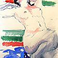 dessin tableau peinture atelier près d'avignon alain montoir (3)