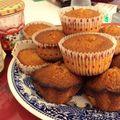 Muffins pépites de chocolat et amande