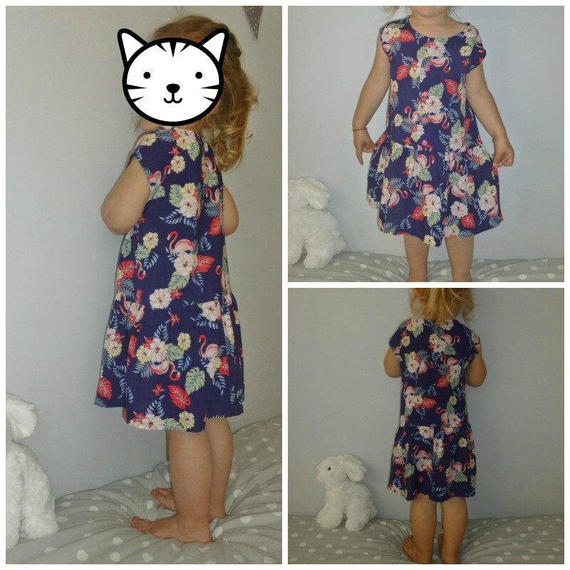 Robe flamand rose1