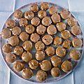 Mini pains d'épices en caissettes