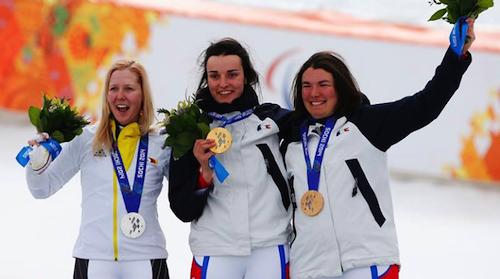 Podium Slalom Géant féminin