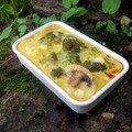 Gratin de légumes au lait de soja (Clea cuisine)