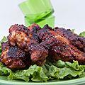 Ailes de poulet à la sauce worcestershire