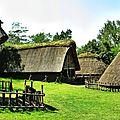 Hutes gauloises au parc gaulois à Saint Julien sur Garonne 02 hdr 800x600